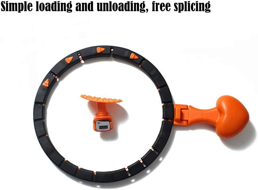 OutdoorCapitol™ Premium Auto-Spinning Hoop Smart Fitness Hoop