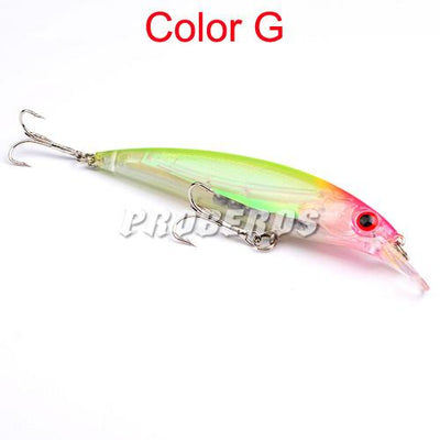 OutdoorCapitol™ Premium Colors Minnow Fishing Bait