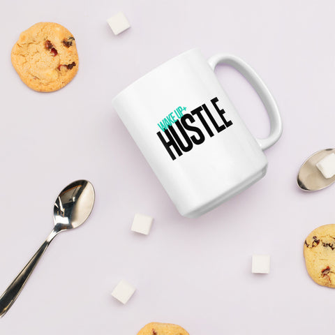 Wake Up+Hustle Mug