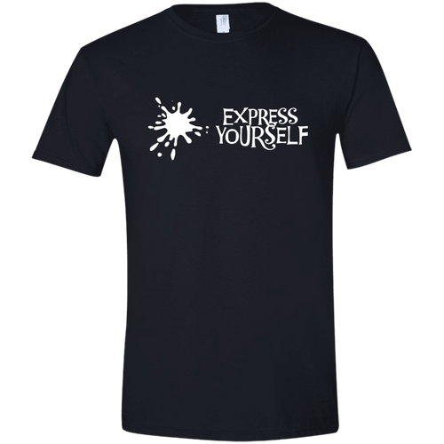T-Shirt: Express yourself (with splash) - kindestCup