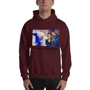 "Hooded Sweatshirt ""God is a Woman Little Girl"""