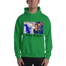 "Load image into Gallery viewer, Hooded Sweatshirt ""God is a Woman Little Girl"""