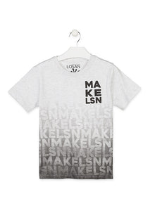 tshirt blanc Make LSN 913-1203