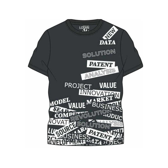 tshirt noir Solution 913-1214