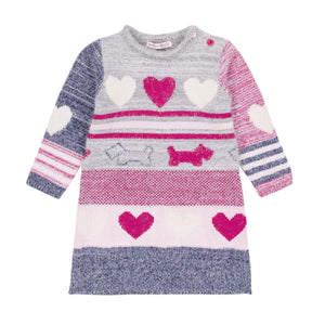 Robe en tricot Preppy chic A20DT90