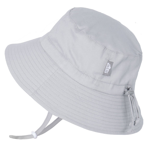 Chapeau Cotton Bucket hat gris