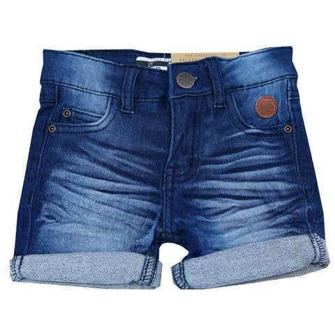 short girly denim foncé Lp