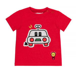 Tshirt rouge voiture