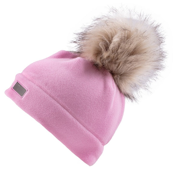 Tuque Rose en polar 7/12 ans BTUP500
