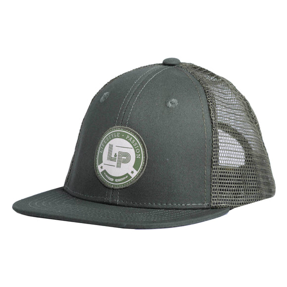 Casquette ROYALE verte Lp apparel