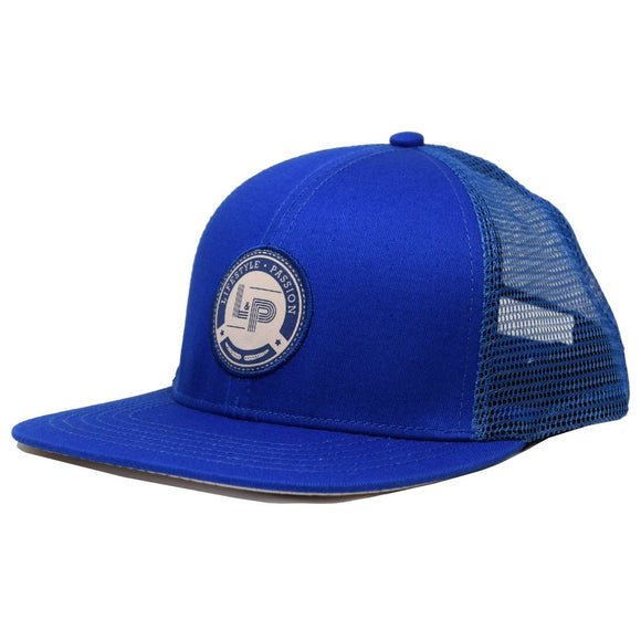 Casquette ROYALE bleue Lp apparel