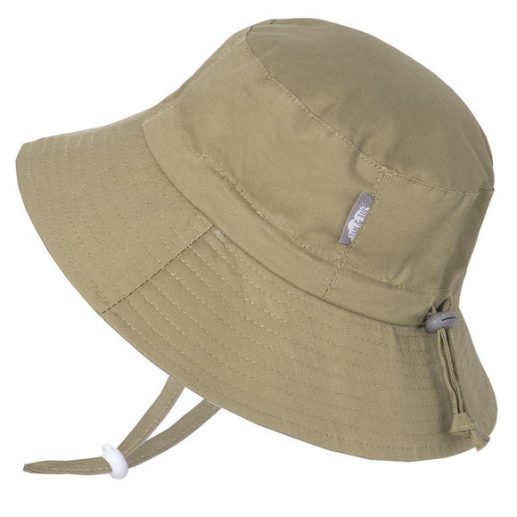 Chapeau Cotton Bucket hat Kaki