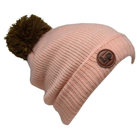 tuque Whistler rose