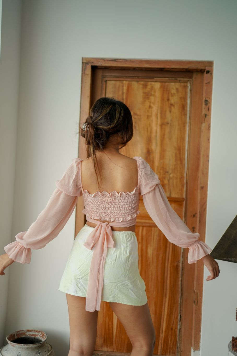 VITELLI TOP IN PINK - NOT BACKLESS
