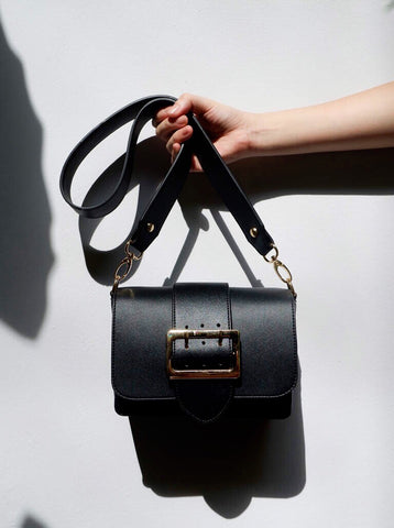 DEUX BAG IN BLACK
