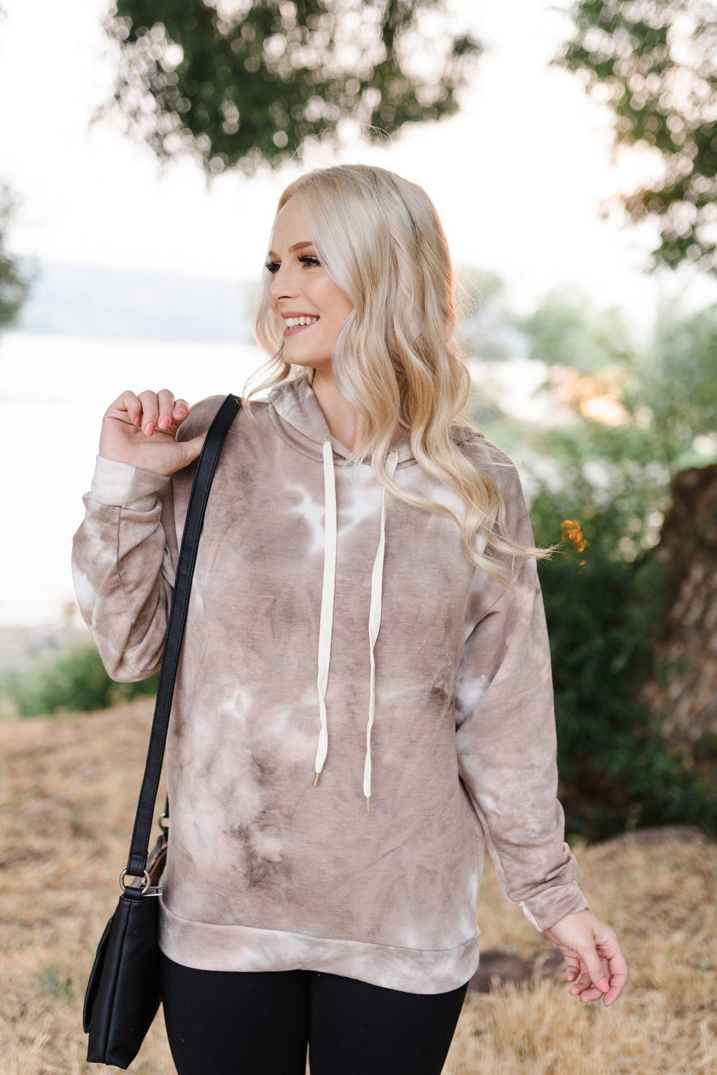 Mocha Dreams Tie Dye Sweatshirt