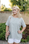 Summer Sage Knit Tunic