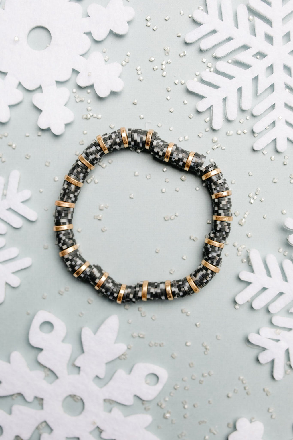 Stocking Stuffer Bracelet in Black