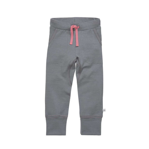 THE 24/7 TROUSER - GREY/PINK