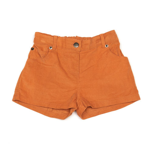 Embroidered Cord Shorts