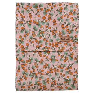 Cotton Flat Sheet - The Patch Peach