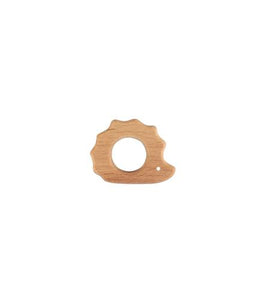 WOODEN TEETHER - SPIKES RING