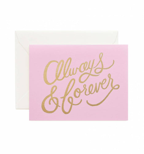 Card - Always & Forever