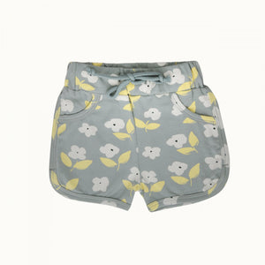 JENNY SHORTS - MEADOW BLUE MIST PRINT