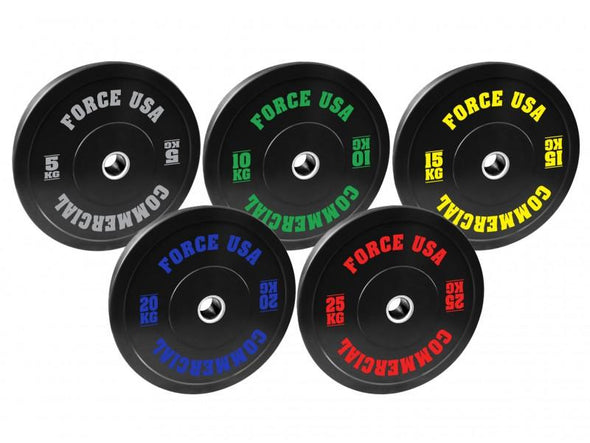 15kg Force USA Ultimate Training Bumper Plates - Macarthur Fitness Equipment