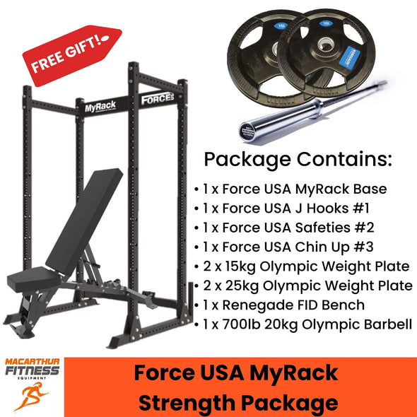 Force USA MyRack Strength Package