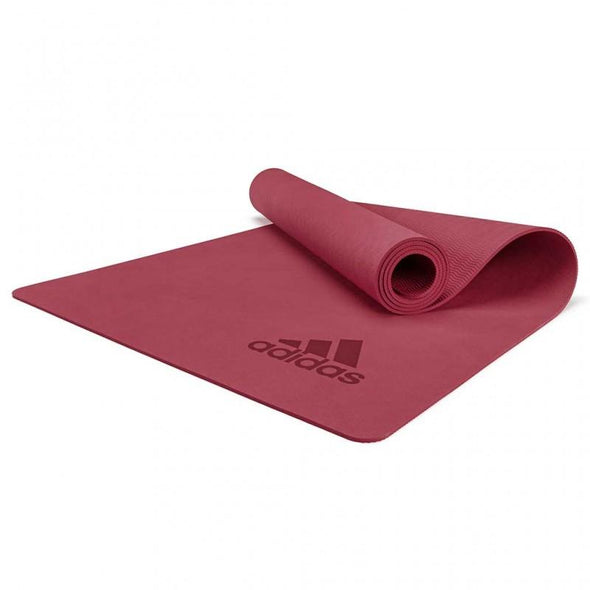 Adidas Premium Yoga Mat - Mystery Ruby - 5mm - Macarthur Fitness Equipment