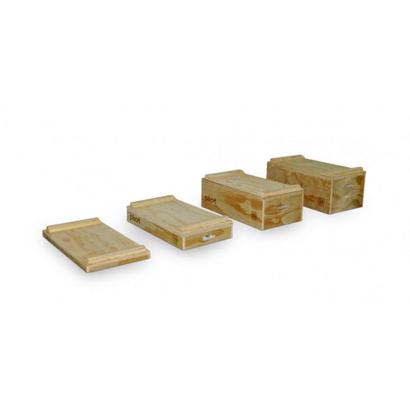 BODYWORX CF250 WOODEN JERK BLOCKS (PAIR) - Macarthur Fitness Equipment