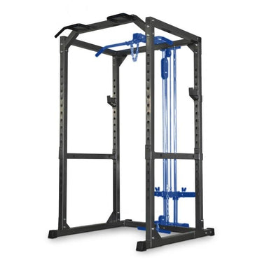 Bodyworx Deluxe Power Cage with Lat / Low Row - Macarthur Fitness Equipment