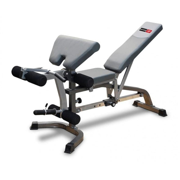 Deluxe FID Utility Bench with preacher - Macarthur Fitness Equipment