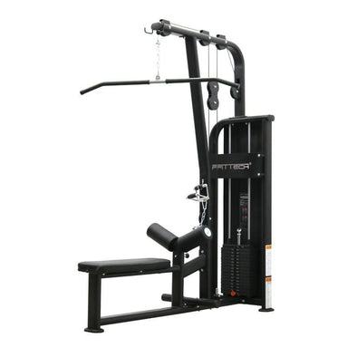 Ffittech Lat Pull Down/Low Row Combo 80kg Stack - Macarthur Fitness Equipment