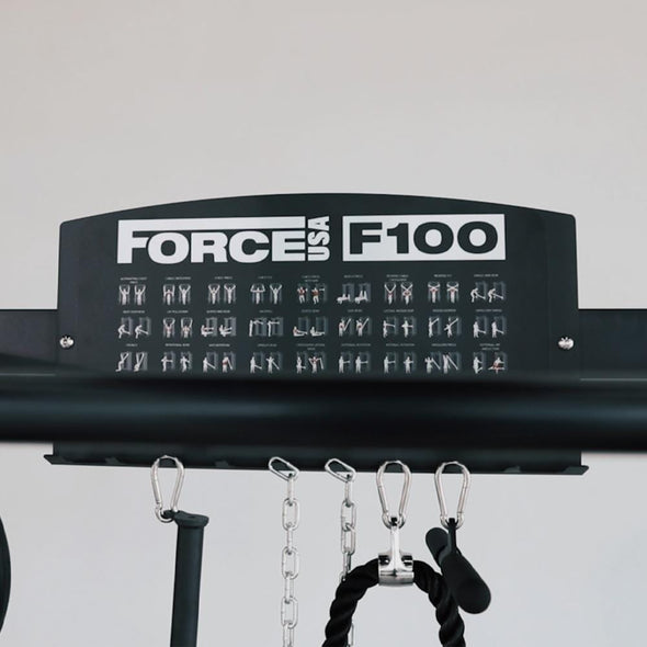 Force USA F100 Functional Trainer - Coming Summer 2020 - Macarthur Fitness Equipment