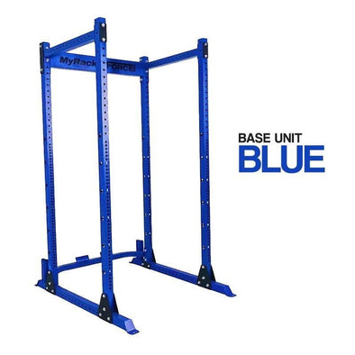 Force USA Myrack Custom Power Rack - Blue Base - Macarthur Fitness Equipment