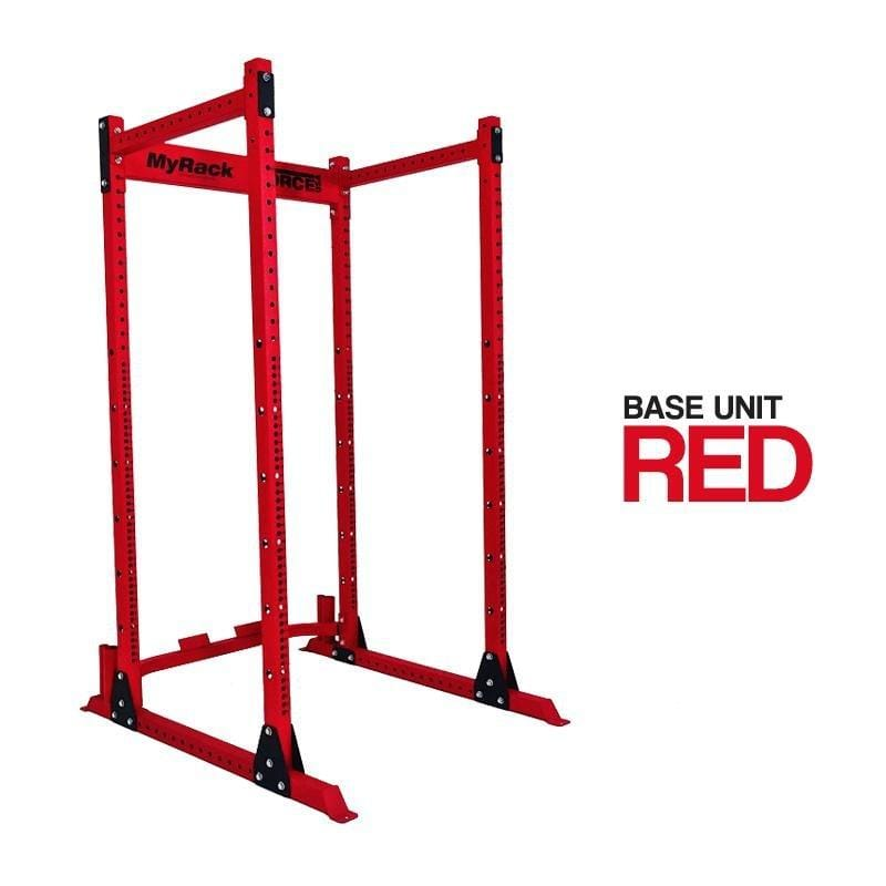 Force USA Myrack Custom Power Rack - Red Base - Macarthur Fitness Equipment