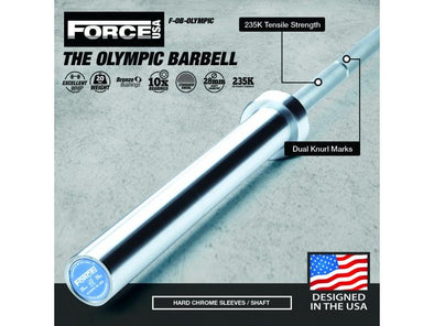 Force USA Olympic Weightlifting Bar - Macarthur Fitness Equipment