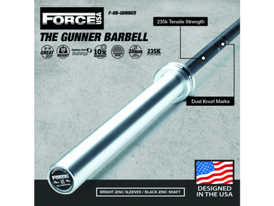 Force USA The Gunner Barbell - Macarthur Fitness Equipment