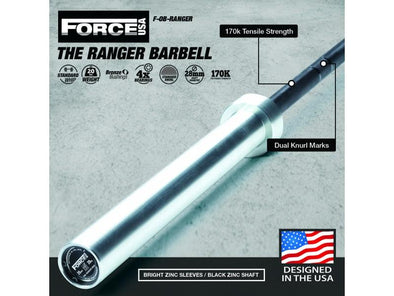 Force USA The Ranger Barbell - Macarthur Fitness Equipment