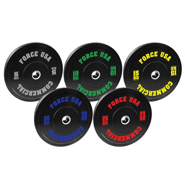 Force USA Ultimate Training Bumper Plate Package - Macarthur Fitness Equipment