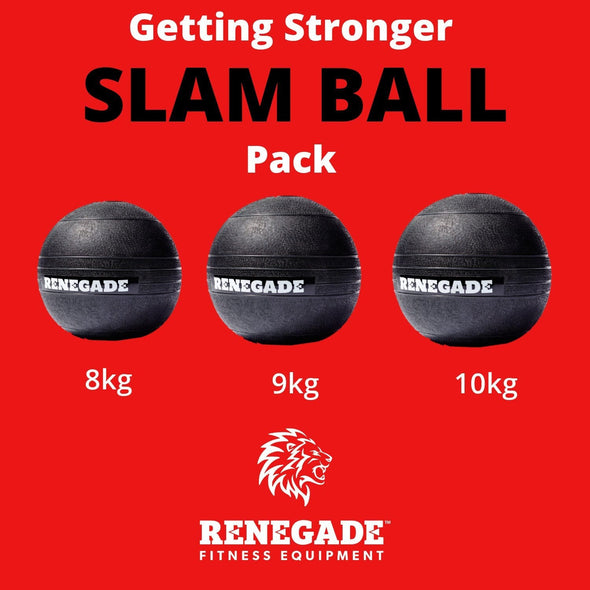Getting Stronger Slam Ball Pack - Macarthur Fitness Equipment