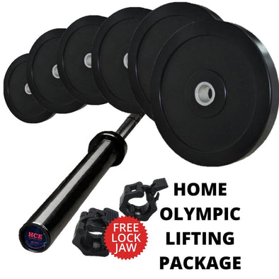 Home Olympic Lifting Package - Macarthur Fitness Equipment