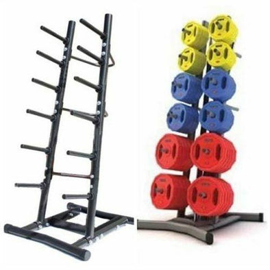 Light Weight Barbell Plates Storage Rack - Macarthur Fitness Equipment