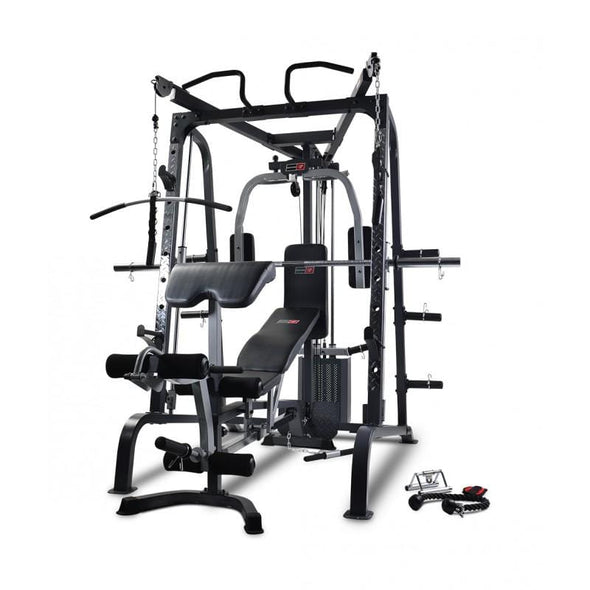 MARCY SMITH CAGE WITH LINEAR BEARINGS AND BENCH - Macarthur Fitness Equipment