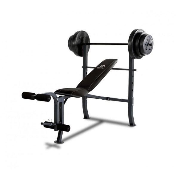 MARCY WEIGHT BENCH WITH WEIGHT SET - Macarthur Fitness Equipment