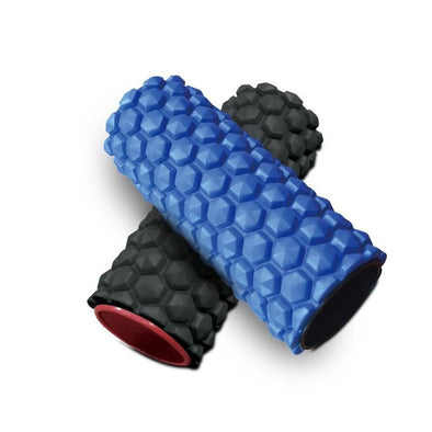 "MASSAGE EVA ROLLER - 30CM / 12"" BLUE - Macarthur Fitness Equipment"