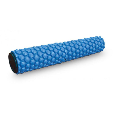 "MASSAGE EVA ROLLER - 60CM / 24"" BLUE - Macarthur Fitness Equipment"