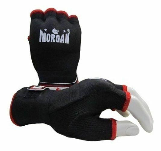 Morgan Elasticated Easy Hand Wraps Black - Macarthur Fitness Equipment
